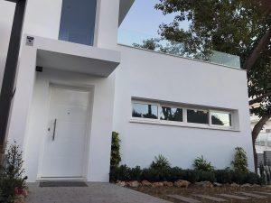 New villa built in Torreblanca, Fuengirola, by Ecoracasa
