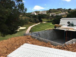 La Cala Golf, Villa 12 Ecoracasa building, Week 11
