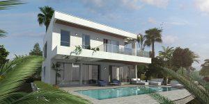Ecoracasa Villa Type 002 exterior design