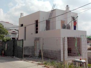 Villa built in Torreblanca by Ecoracasa, Week 20