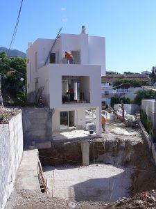 Villa built in Torreblanca by Ecoracasa, Week 21