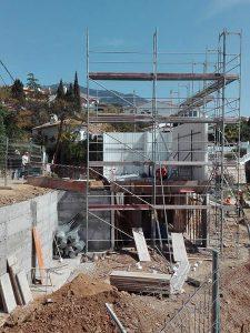Villa built in Torreblanca by Ecoracasa, Week 5
