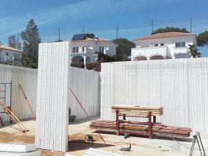 Villa built in Torreblanca by Ecoracasa, Week 6
