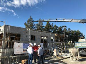 Villa being built in La Cala de Mijas